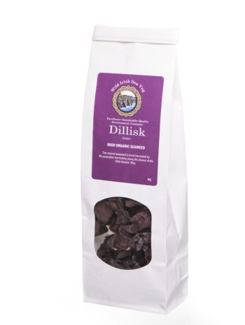 Wild Irish Organic Dillisk Dulse Seaweed sustainably hand harvested