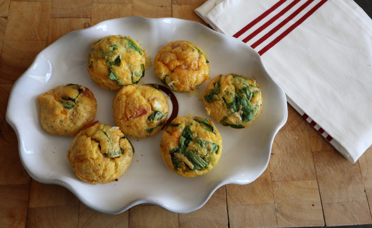 Sea Salad egg muffins