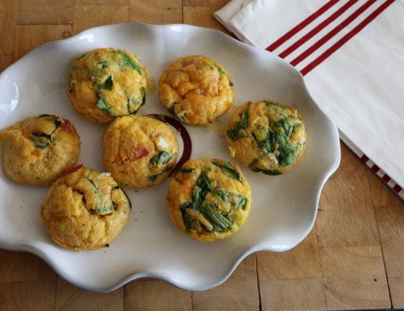 Sea Salad egg muffins