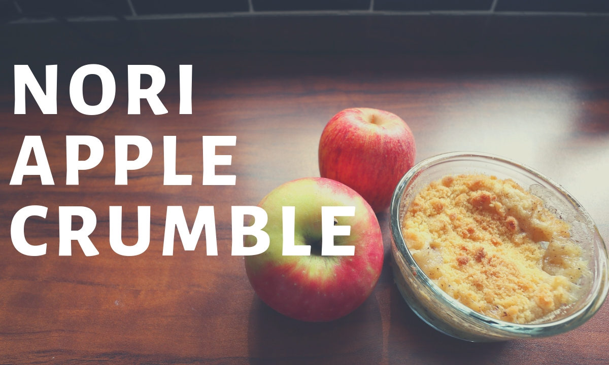 nori apple crumble