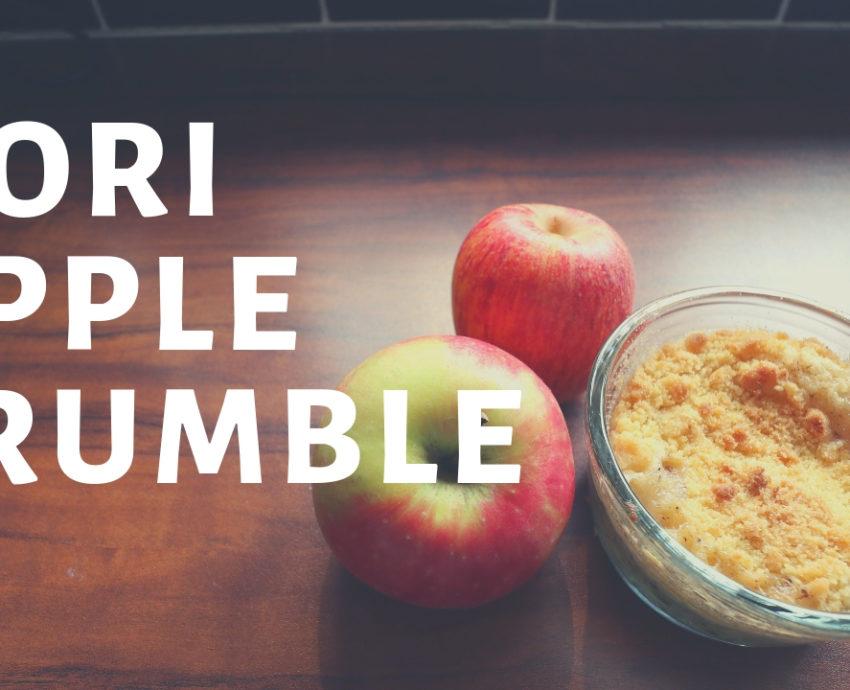 nori apple crumble